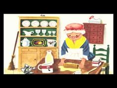 Het Koekemannetje. Op een dag bakt het oude vrouwtje een heerlijk koekemannetje. Het koekemannetje bedenkt zich geen moment en neemt de benen! Hopla, de grote wijde wereld in. Auteur(s): Nancy Nolte Illustrator(s): Richard Scarry Gouden Boekje Richard Scarry, Restaurant Themes, Little Chef, Good Old Times, Letter B, Childrens Books, Holland, Bakery, School