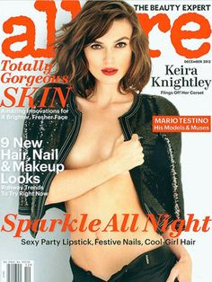 Keira Knightly, Allure Magazine Cover