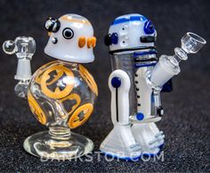 Star Wars themed Dab Rigs by Empire Glassworks.