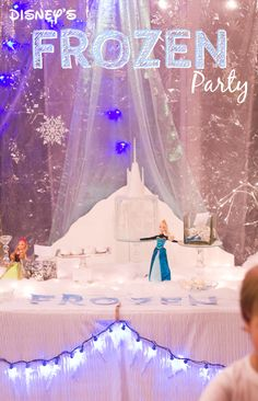 Food ideas! Disney FROZEN Winter Party. Every young girl is going to be asking for this party this year. #FrozenFun #cbias #shop