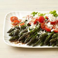 Weight Watchers - Balsamic Asparagus and Cherry Tomato Salad