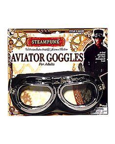 2e8f98fac6 Steampunk Aviator Goggles Steampunk Accessories