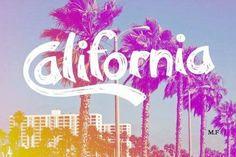 #California #typography #colors