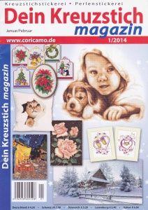 Dein Kreuzstich Magazin №1 2014. Обсуждение на LiveInternet - Российский Сервис Онлайн-Дневников