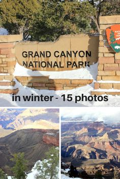 The Grand Canyon in Winter - USA travel - photo essay