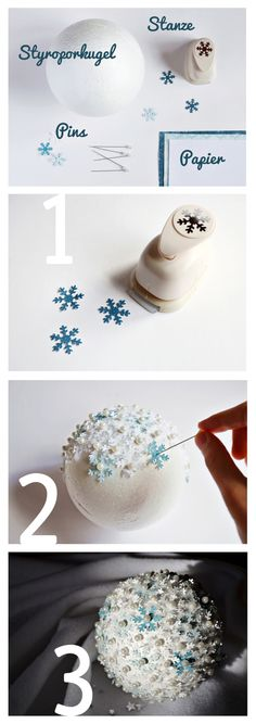 Schneeball selber machen