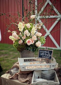 This Backyard Wedding Had Some Of The Coolest Flowers We've Ever Seen - kroward. French Wedding, Rustic Wedding, Dream Wedding, Farm Wedding, 50th Wedding Anniversary, Anniversary Parties, Anniversary Ideas, Garden Party Wedding, Garden Parties