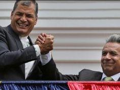 Moreno y Correa chocan por el futuro político de Ecuador