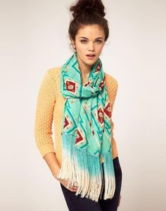 hair scarves | cute scarf! hair updo - Hairstyles and Beauty Tips
