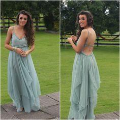 DIY Debs dress - Love this girl!