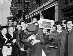 May 8: V-E (Victory in Europe) Day Is Celebrated in America and Britain (1945)