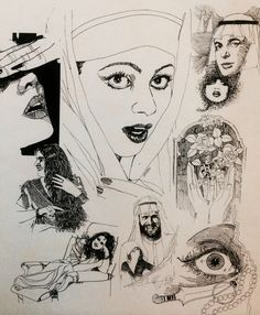 Pen&Ink By Irfan Khan