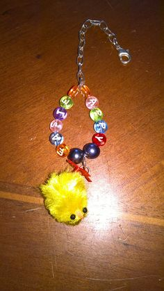 Happy easter! easter chick purse / bag / key charms! by PetitechicboutiqueGB on Etsy