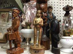 wood carvings $5 - $15 Wood Carvings, Antique Shops, Antiques, Antiquities, Antique Stores, Antique, Wood Carving, Wood Engraving, Woodcarving