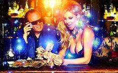 In online gambling casino games, bets are managed through the accounts of the credit card of the player.