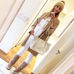 Warm, cosy and comfy ❄️ #ootd #denim #isabelmarant #boots #mou #hat #welovefurs #bag #michaelkors #zara #instablogger #fashion #me #metoday #whatimwearing  #wiwt #style #picoftheday #photooftheday #style #winter #mango