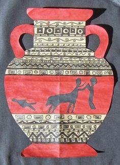 greek vases Artsonia Art Museum :: Artwork by Katherine948