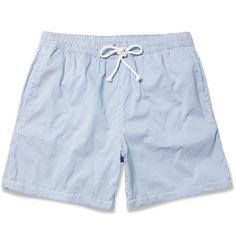 Seersucker Swim Shorts. Hartford.