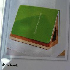 Book hook - idea for new desk