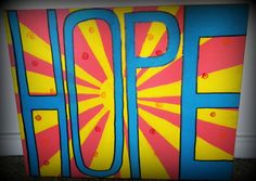 Hope Canvas by LifesAcanvas on Etsy, $40.00