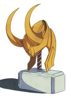 thorki thunderfrost Thor Loki The Avengers Marvel