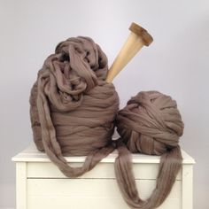Super giant yarn. Super bulky Merino Extreme by WoolCoutureCompany