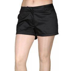 Pantaloni Scurti Dama VERO MODA Lykke Mix Black Black, Fashion, Elegant, Moda, Black People, Fashion Styles, Fashion Illustrations