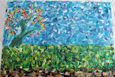 Mini Varghese art paper collage
