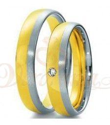 Βέρες γάμου δίχρωμες με διαμάντι Breuning 4051-4052 Rings For Men, Wedding Rings, Engagement Rings, Jewelry, Diamond, Rings For Engagement, Men Rings, Jewlery, Jewels