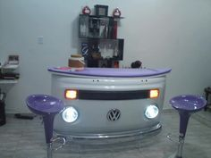 We love a VW bus - anywhere you use it! www.highroadorganizers.com
