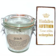 Glück - Krönchen Bad - Bade Meersalz - Cleopatra's Duft-Oase