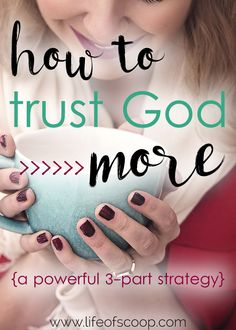 It's time to trust in the Lord with all of your heart. It's time to trust God in the hard times, with your marriage, with your money. It's time to trust God steadfastly so we can be ALL IN for Jesus. Are you ready to embrace the journey? This powerful 3-part strategy is effective & packed with powerful truth. Oh, and grab the FREE 6-day course to dive deeper! It tells you why & how to trust God steadfastly. Start today! {and grab some free printable note-taking sheets before you get…