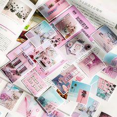 24Pcs Flamingos Rainforest Hand Account Stickers DIY Scrapbook Label Decor   ZP