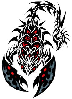 Image from http://www.tribaltattoos.tattooshowtime.com/tribal-scorpion-tattoos-77-1.png.