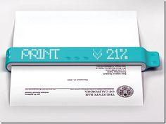 Future technology devices concept - Portable printer 4