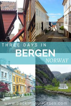 Three days in Bergen, Norway   PACK THE SUITCASES
