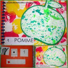 1 pomme. Quadern de numeració