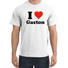 I Love Gaston T shirt I Heart Gaston Tee