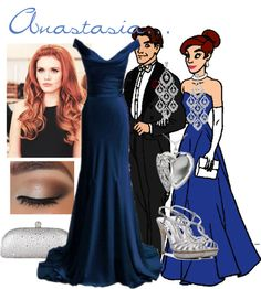 """Inspired by Anastasia..."" by skatequeen10 on Polyvore"