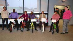 VA DMV donate bikes to BikesForGood