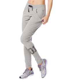 Look at this Thunderin' Gray U Slim-Fit Jersey Pants - Women on #zulily today!