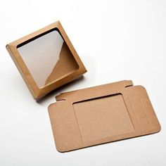 Buy Kraft Paper Gift Boxes, sizeCut Out Window Cool Packaging, Packaging Design, Packaging Ideas, Paper Gift Box, Gift Boxes, Craft Fair Table, Design Typography, Diy Crafts Hacks, Shaped Cards