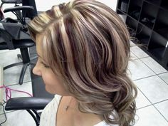 Highlights, lowlights and deep red foils
