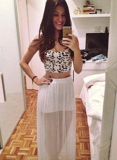 <3 love that skirt