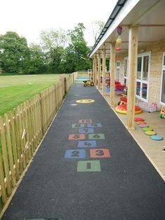 Outdoor Safety for Preschoolers | ... pour rubber safety surfacing pre-school playground outdoor classroom
