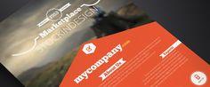 InDesign ( Vintage Corporate Flyer ) INDD or Higher 3 styles 4 MB Where do I downlo Indesign Templates, Adobe Indesign, Diy Design, Print Design, Graphic Design, Travel Brochure, Corporate Flyer, A4, Resume