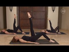At Home Beginner Pilates Workout : Pilates Workout for Beginners - YouTube