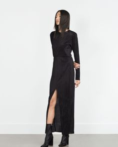 PLEATED DRESS - View all - Woman - NEW IN | ZARA United States