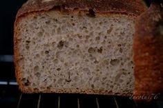 Najprostszy chleb pszenny (na zakwasie)