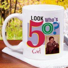 Look Who's Birthday Personalized Photo Coffee Mugs Personalized Coffee Mugs, Personalized Wedding Gifts, Birthday Photos, Birthday Gifts, Unique Gifts, Great Gifts, Milestone Birthdays, White Ceramics, Christmas Stockings